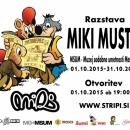 01.10.2015 - Pregledna razstava Mikija Mustra v MSUMu