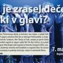 07.05.2019 - Dušan Kastelic: V kaj je zrasel deček z žužki v glavi?