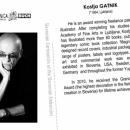 Razglednica - Kostja Gatnik